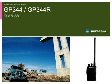 Anleitung Motorola GP344 - Funkgeräte-Vermietung.de