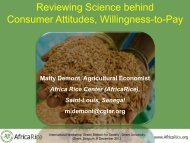 Reviewing Science behind Consumer Attitudes, Willingness-to ... - VIB