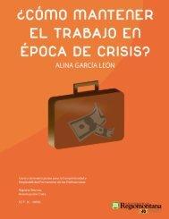 ¿Cómo Mantener el Trabajo en Época de Crisis? - Universidad ...