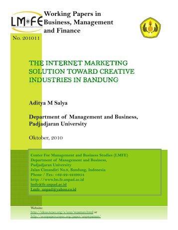 Department of Management and Business, Padjadjaran University