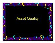 Asset Quality - World Bank