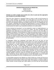 Enonciations Douces ou Reddition Page 1 de 9 ÉNONCIATIONS ...