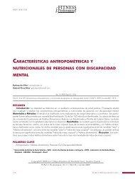 CARACTERÍSTICAS ANTROPOMÉTRICAS Y NUTRICIONALES DE ...