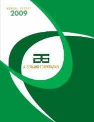 2009 Annual Report - A. Soriano Corporation