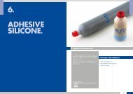 6. ADHESIVE SILICONE.