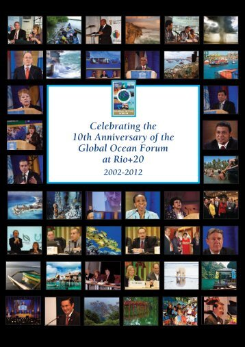Global Ocean Forum 10th Anniversary Celebration Book
