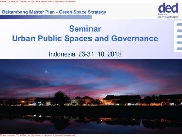 Battambang Master Plan - Green Space Strategy - Forum for Urban ...