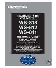 instrucciones detalladas grabadora de voz digital - Olympus