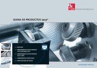 gama de ProdUcToS zeus® - Zeus-tooling.de