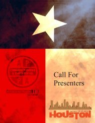 Call For Presenters - American Probation and Parole Association