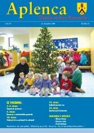Aplenca – Glasilo občine Komenda 12/2009 - Občina Komenda