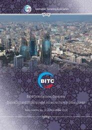 Baku International Congress Tunneling and Underground ...