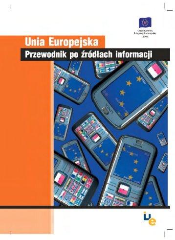 Unia Europejska - Przewodnik po źródłach informacji - Centrum ...