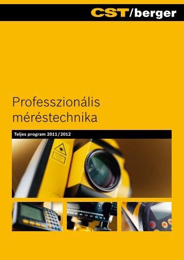 CST/Berger Professzionális méréstechnika program ... - Bosch