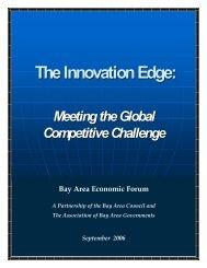 The Innovation Edge: - Bay Area Council Economic Institute