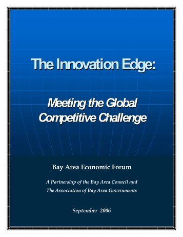 The Innovation Edge: - Bay Area Council Economic Institute
