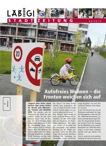 Läbigi Stadt Zeitung 2012/2