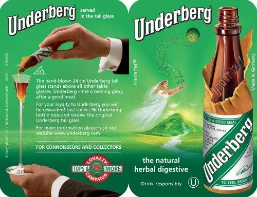 the natural herbal digestive - Underberg