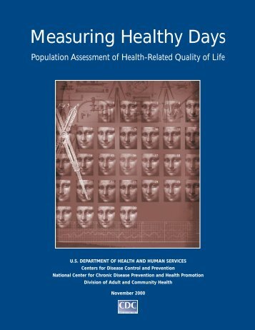 Measuring Healthy Days - Centers for Disease Control and Prevention