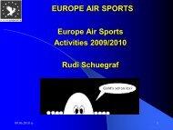 EUROPE AIR SPORTS Participation - LAA