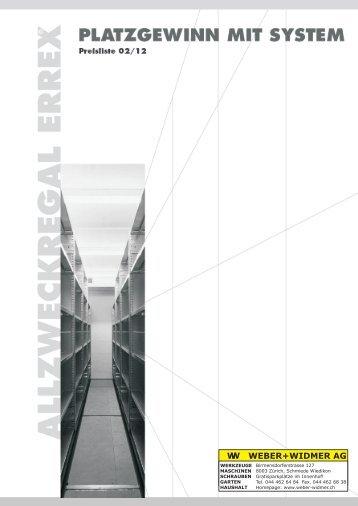 Errex Katalog 2013.cdr - Weber+Widmer AG
