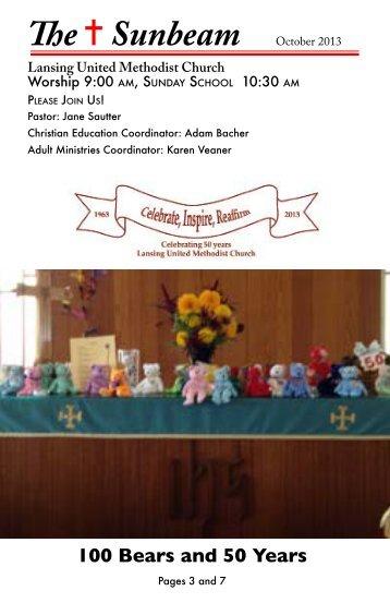 100 Bears and 50 Years - Lansing United Methodist Church