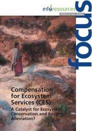 Compensation for Ecosystem Services (CES) - InfoResources