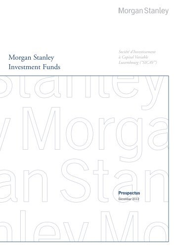 Morgan Stanley Investment Funds