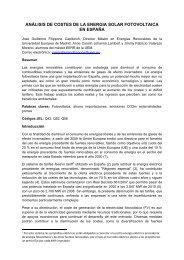 análisis de costes de la energia solar fotovoltaica en españa - AEEE