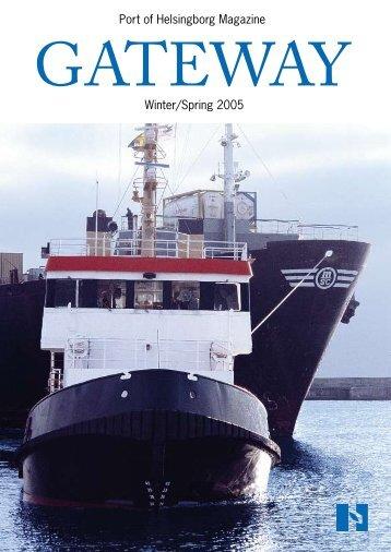 Port of Helsingborg Magazine Winter/Spring 2005 - Helsingborgs ...