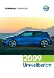 Umweltbericht Autoeuropa 2009 - Volkswagen AG