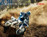 2011 MX, Off-Road & Dual-Purpose Brochure - Yamaha of ...