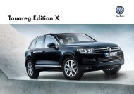 Katalog - Der Touareg Edition X - Volkswagen AG