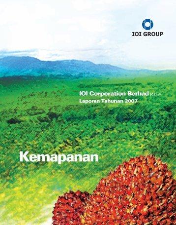 Laporan Pengarah samb - IOI Group