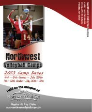 Download Camp Brochure - Northwest College
