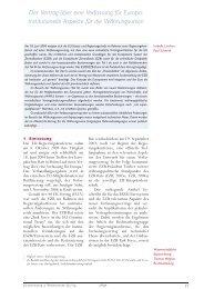 Geldpolitik und Wirtschaft Q3/04 — Verfassung f¸r Europa