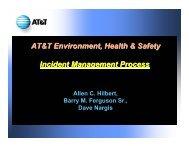 Hilbert Incident Management PPT