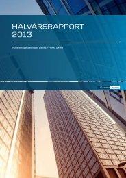 Halvårsrapport 2013.pdf - Danske Invest