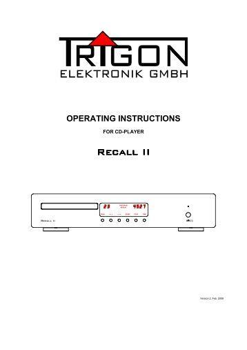 operating manual oled control toni maroni gmbh operating manual trigon elektronik gmbh