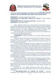 1 ata da 20ª sessão ordinária do tribunal pleno, realizada em 31 de ...