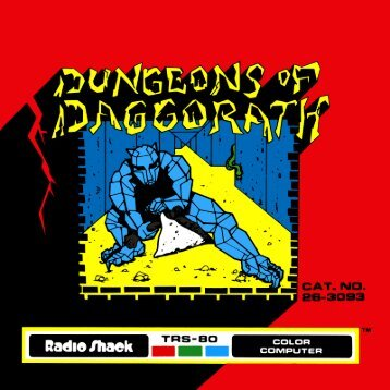 Dungeons of Daggorath (Tandy).pdf - TRS-80 Color Computer Archive