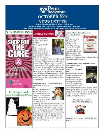 september 2008 newsletter october 2008 newsletter - Business ...