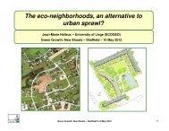 The eco-neighborhoods, an alternative to urban ... - MP4-Interreg
