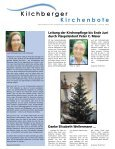 «Kilchberger» bleibt «Kilchberger» - Gemeinde Kilchberg - Seite 6