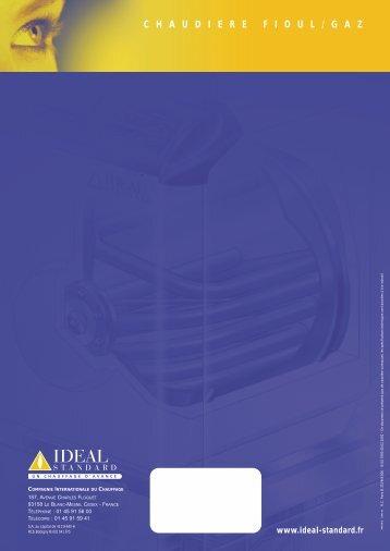 chaudierefioul / gaz - Ideal Standard