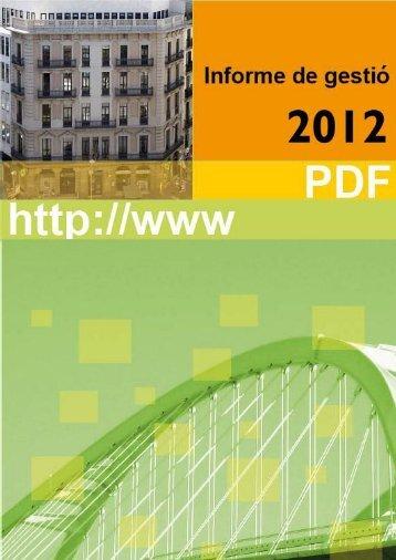 Informe de gestió | 2012 | Pàg. 2 - ctesc