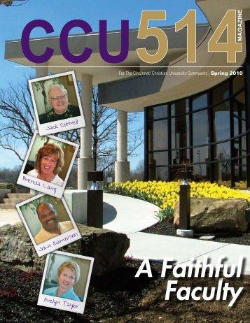 Download Now - Cincinnati Christian University