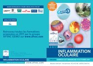 INFLAMMATION OCULAIRE - AFVAC