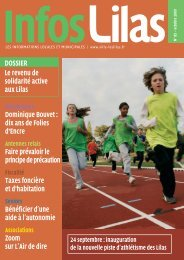 Infos Lilas 85 - Les Lilas