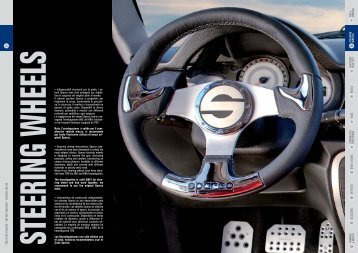 26 SEATS & HARNESSES 4 STEERIN G W HEELS ... - Sparco-Racing